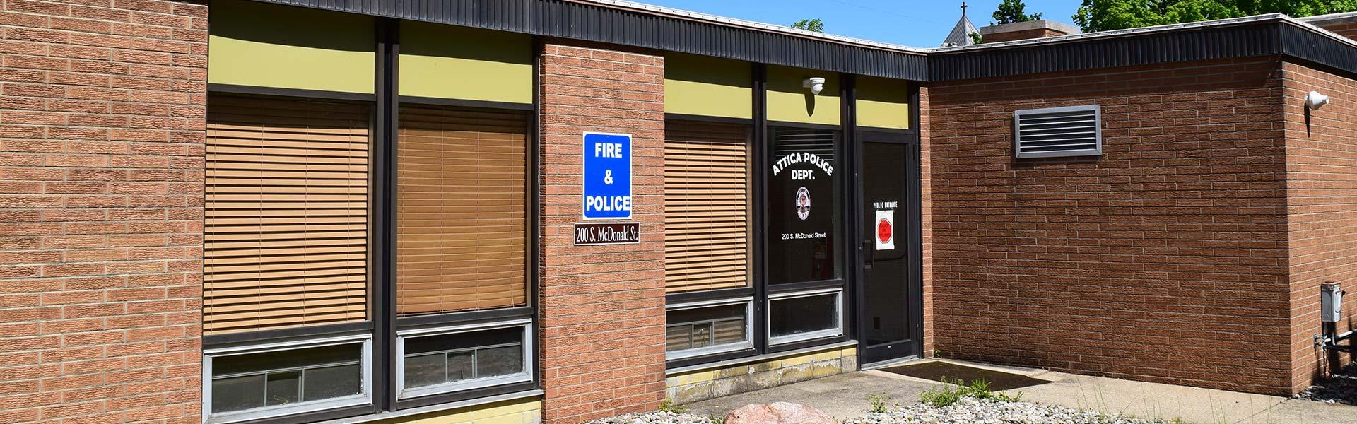 Attica Indiana Police Departmetn