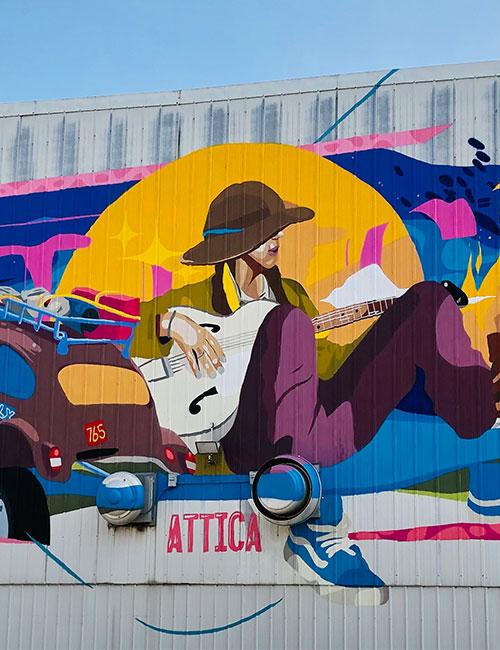 Attica Mural